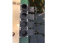 "Koi pond slide valve 1.5"""