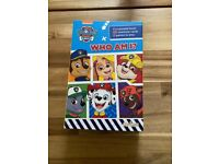 Paw patrol 'who am I' guess who game