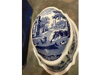 Spode porcelain mould in original box.