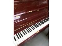 Steinhoff upright Piano Free uk delivery free stool