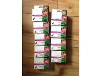 9 Unused Inkjet Printer Cartridges for Canon Pixma IP4000
