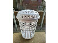 Plastic laundry bin