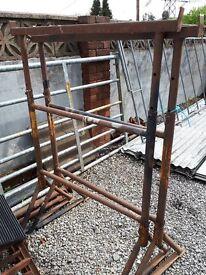 plastering trestles