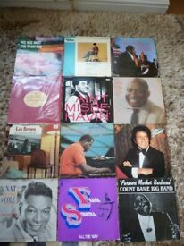 42, JAZZ & BIG BAND LPs ALL WELL LOOKED AFTER