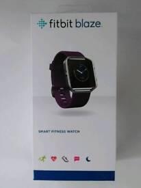 Fitbit Blaze (plum, large)