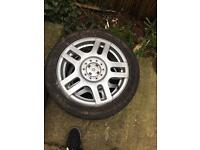 Golf gti wheels x4
