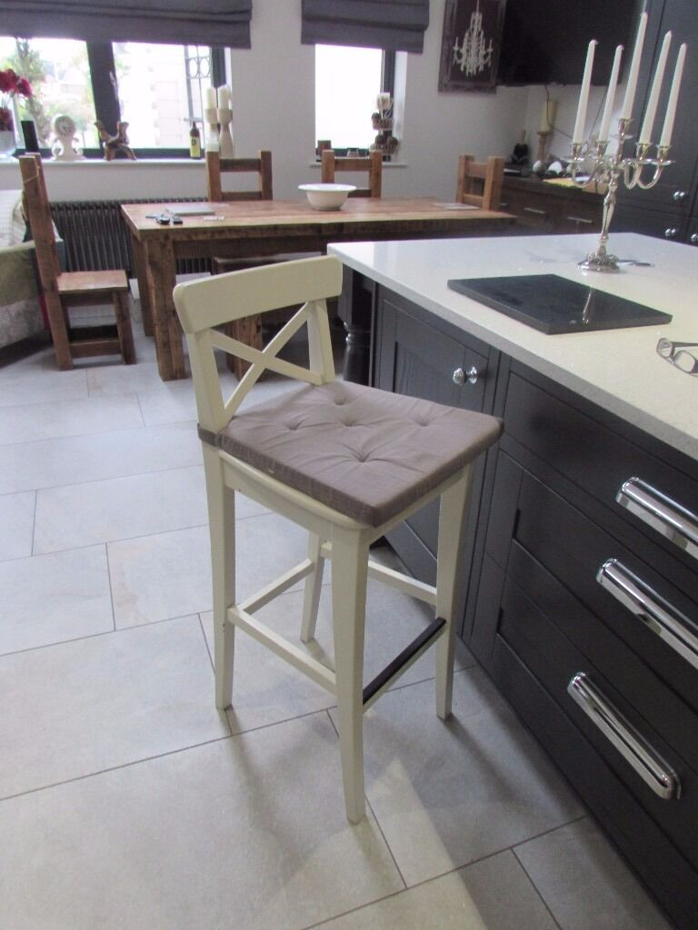 IKEA INGOLF BAR STOOL & Chair pad | in Sandwell, West Midlands ...