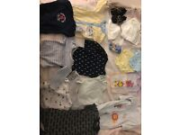 BABY BUNDLE OF CLOTHING 0-3 6 9 MONTHS