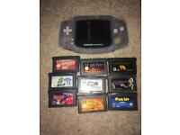 Nintendo gameboy advance and games
