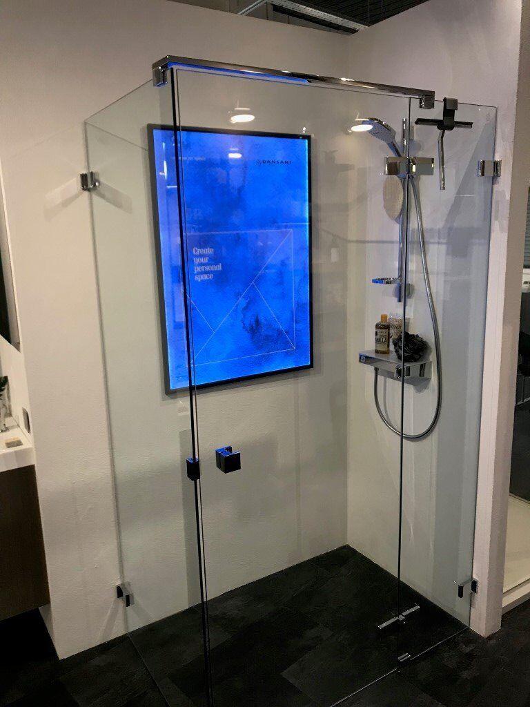 Perfect Frameless Shower Cubicle Ensign - Bathtub Design Ideas ...