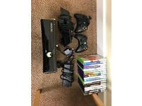 Xbox 360S 250GB Console With Kinect & 17 Games