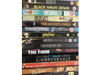 DVDs job lot 2. 38 DVDs for £15. Bargain!