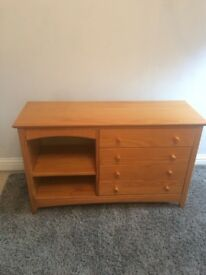 Julia Bowen Cabin bed , mini wardrobe and chest of drawers with pull out desk