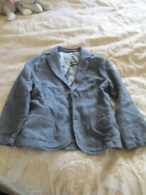 Age 4-5 Blue NEXT linen jacket