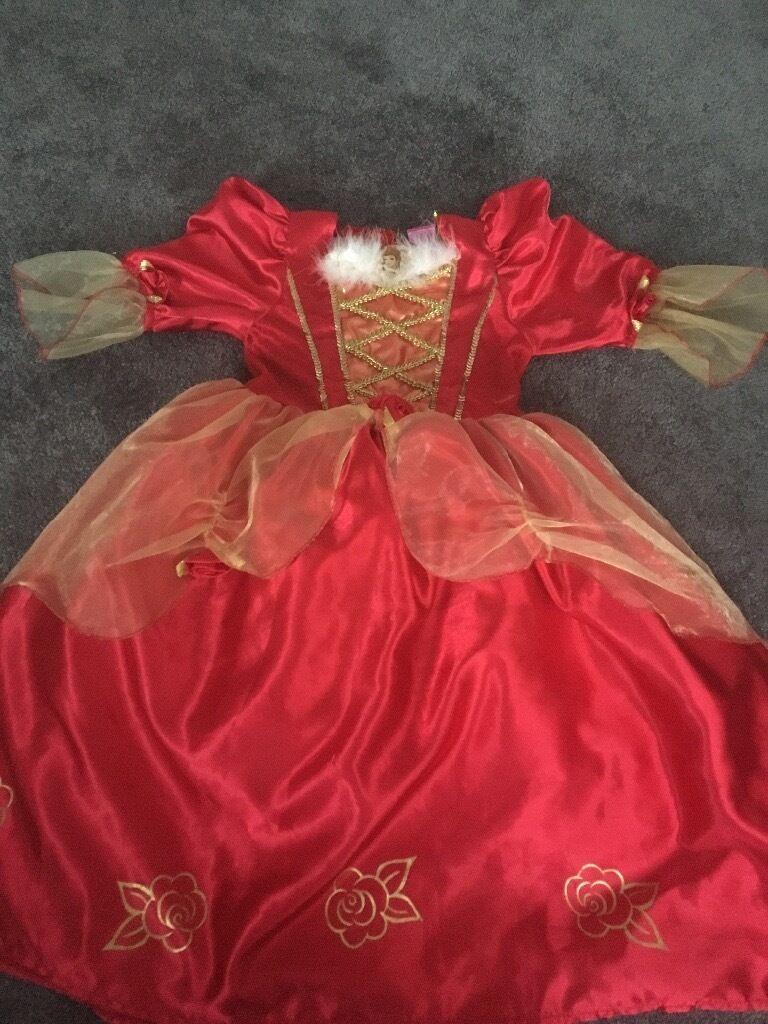 Princess dress size 5-6 years old