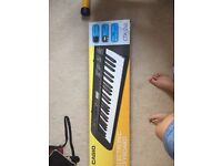 Casio keyboard - used twice. Still in box with books available for learning to play the piano.