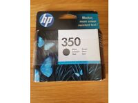 HP 350 Ink Cartridge, Black