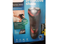 philips series 3000 wet or dry cordless shaver