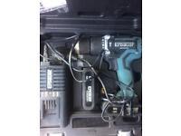 Erbauer 18v 2amp cordless brushless screwdriver drill