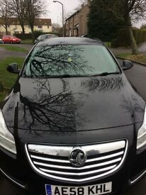 Black Vauxhall insignia for sale