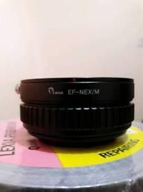 Canon Adpter for sony full frame lens Pixco EF-NEX/M