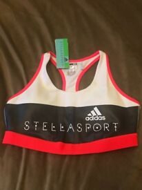 ADIDAS STELLA SPORT BRA CLIMALITE BRAND NEW With TAGS