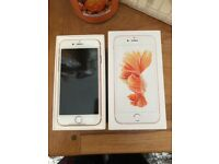 BRAND NEW rose gold iPhone 6s 64gb