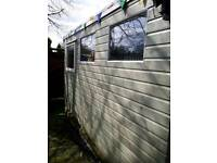 SHED 12x8 joiner made needs repair please read full ad.