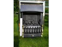 Gas fire coal effect