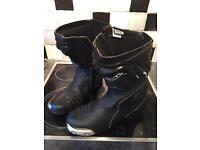 Motorcycle boots, Diora NF2 uk size 12
