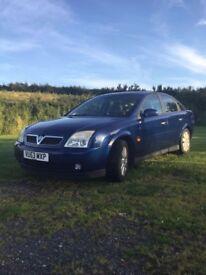 Vauxhall vectra 2003