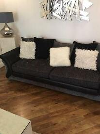 DFS black & grey sofa(s) *will sell separately*