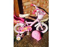Girls bike age 3+