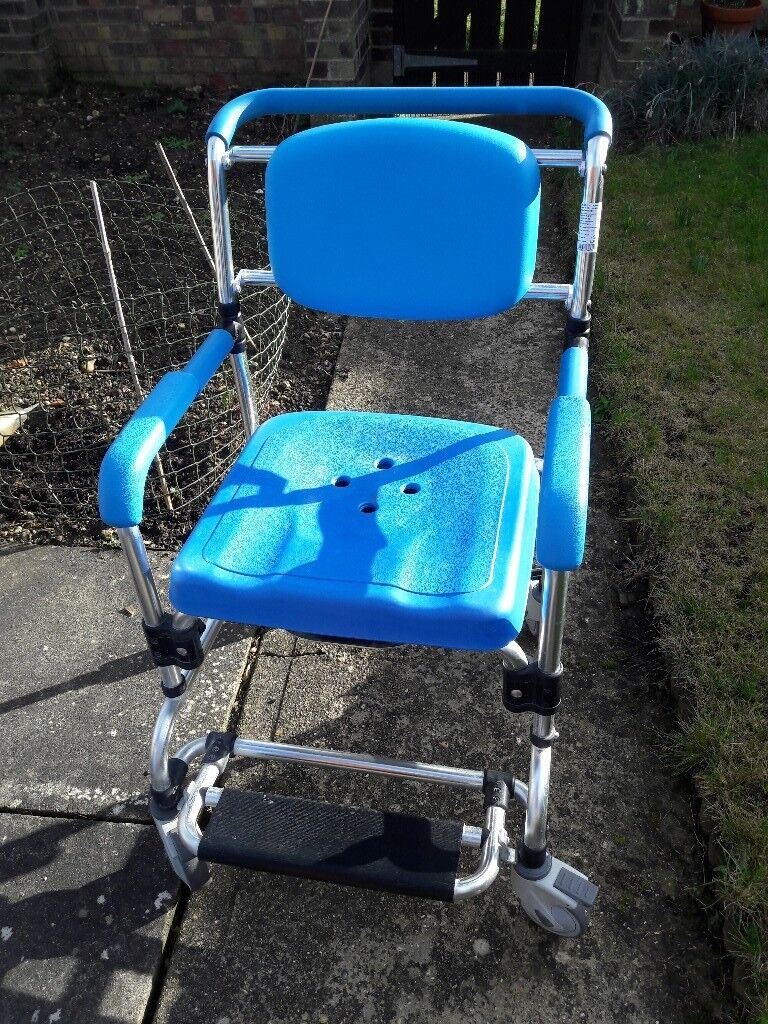 Ocean wheeled shower commode chair | in Bury St Edmunds, Suffolk ...