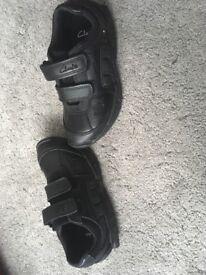 Boys Clark's shoes size 8.5 G