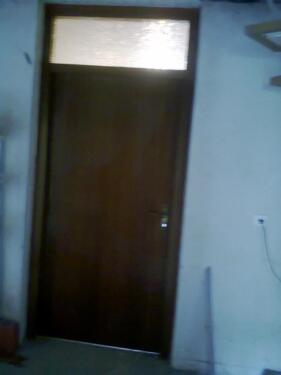 Innen Tür Zimmertür Oberlicht + Zarge Rahmen Mahagoni furniert in ...