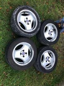 Saab 9000 alloy wheels