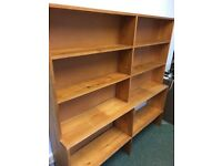 Large bookcase free for collection