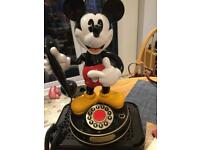 Mickey Mouse phone vintage preowned
