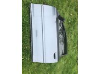 AUDI S3 8P 2007 DRIVERS SIDE DOOR WITH GLASS AND ACTUATORS