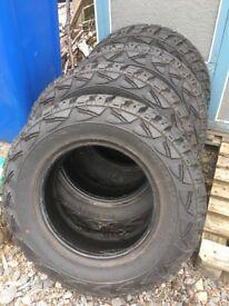 Kumho 195/80 R15 100Q Road Venture MT tyres
