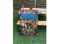Big large comic book poster future shock the story of 2000ad