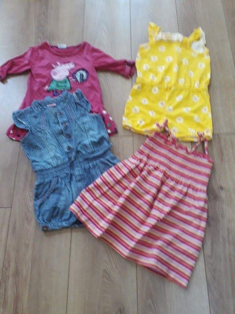 Bundle girls clothes age 2-3