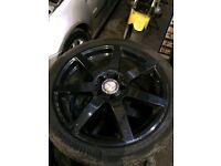Mercedes AMG alloy wheels