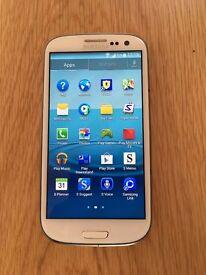 Samsung Galaxy S III LTE I930516GB - White Very Good Condition