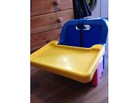 Baby compact portable booster seat