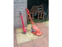 Strimmer and flymo for sale for the smaller garden have now astro in garden no longer needed