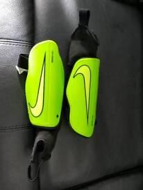 Nike football shin pads