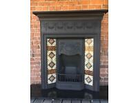 Victorian cast iron fireplace DELIVERY FREE / £25 MOST UK