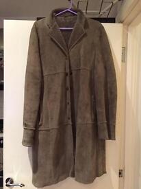 Paul Costelloe 100% Sheepskin Winter Coat